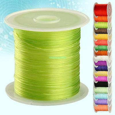 Strong Stretchy Elastic Beading Thread Cord Line For Bracelet Jewelry 18 Colors