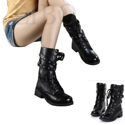 Women Over the Knee Boots Platform Stilettos High Heels Black Knight Slim Shoes