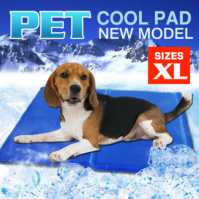 Pet Dog Cat Bed Non-Toxic Cooling Cool Water Cooling Gel Mat Summer Pad 65X50ccm