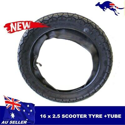 16 x 2.50 replaces 16 x 3.00 Tyre/Tire Tube Electric Bicycles Scooters e-bikes