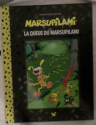 Tirage de luxe La QUEUE du MARSUPILAMI