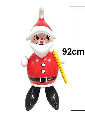 Large Inflatable Blow Up Santa Claus Father Christmas Xmas Toy Party Fun 92CM