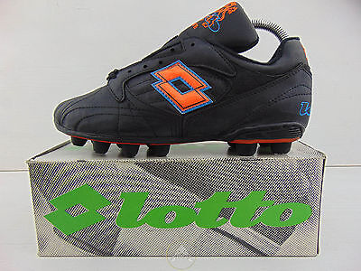 Vintage 90 LOTTO Olanda KNVB Scarpe Calcio 38 Soccer Shoes Boots Italy Holland