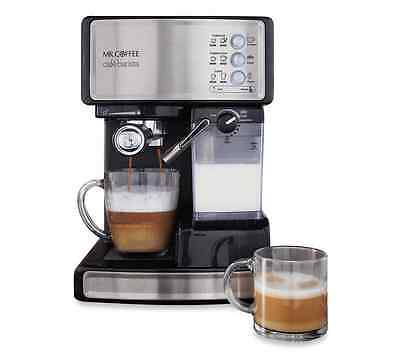 Mr. Coffee Cafe Barista Espresso Maker Machine, Coffee, Cappuccino, Milk Frother