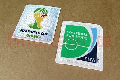 Brazil Worldcup 2014 and Football For Hope Soccer Patch / Badge