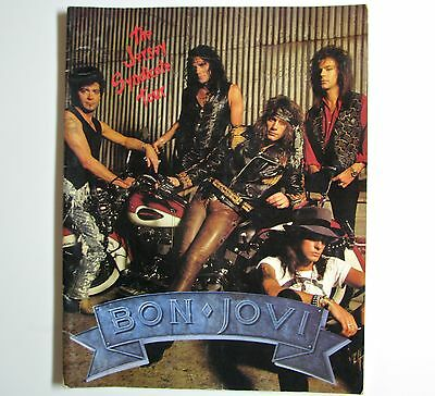 """Bon Jovi """" Jersey Syndicate Tour"""" book  -  Very nice condition - 24 pages"""