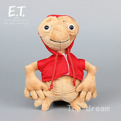 New E.T. Extra-Terrestrial Alien Plush Soft Toy Stuffed Animal Doll 8'' Teddy