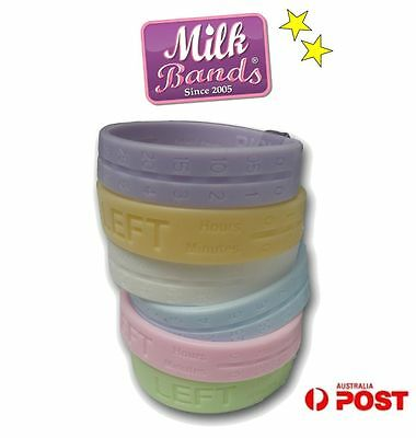 Milk Bands Nursing Breastfeeding Silicone Bracelet for Breast Feeding Baby
