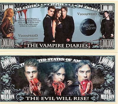 The Vampire Diaries TV Series Million Dollar Novelty Money