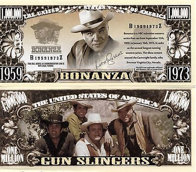 Bonanza TV Series Million Dollar Novelty Money