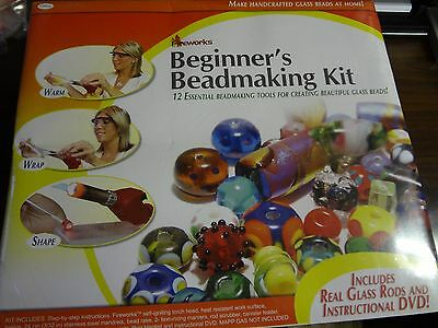 Fireworks - Beginner's BEADMAKING Kit - New with DVD & Tools