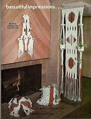 Plant Hanger Room Divider Pattern & More - Craft Book: #GM9 Macrame With Style