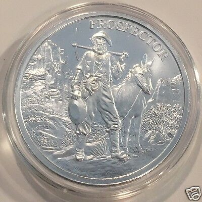 1oz PROSPECTOR .999 FINE SILVER ROUND - New Sealed  #3126