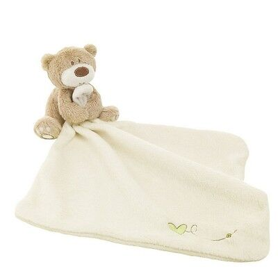 Mothercare Baby Comforter scarf Blanket Towl Teddy Bear Toy Soft Smooth Plush