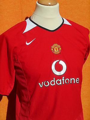 MANCHESTER UNITED FC Maillot Jersey Camiseta 2004 2006 Home Nike Premier League