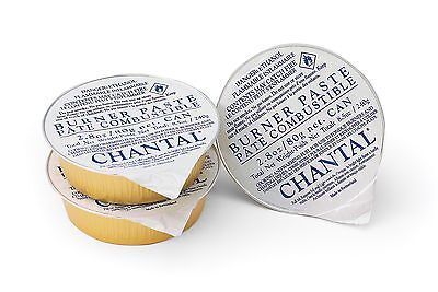 Chantal 3pk Burner Paste - Cooking & Warming Fuel for Fondue & Chafing Dishes