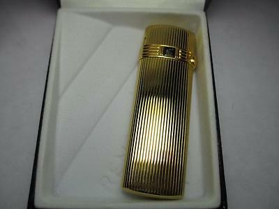 New Colibri Artisan Gold Elite Collection Flint Lighter Vintage 70's 80's!!