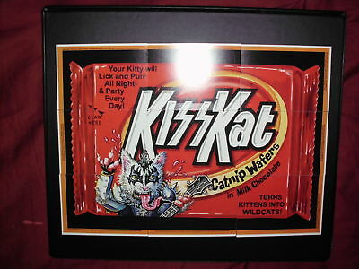 """Wacky Packages ANS7 - KISS Kat Trading Card Puzzle... I Wanna Rock """"n Roll..."""