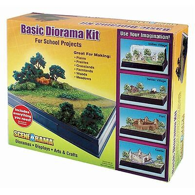 Hobbycraft Woodland Scenics Basic Diorama Kit for Model Railways School Project