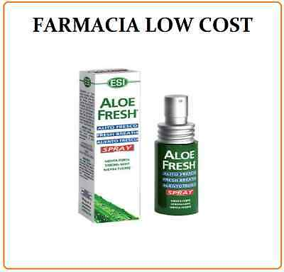 Aloe Fresh Spray Alla Menta 15 Ml