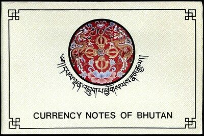 Bhutan Booklet On 7 Currencies,1991,all Unc And Its Just Like A Collection