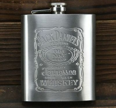Hot sales !portable Engraved 7oz Stainless Steel HIP FLASK PERSONALIZED Flasks