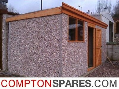 Concrete Pent Shed Store 6ft0in x  8ft0in installed *conditions apply £1,220