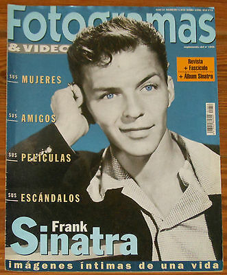 FOTOGRAMAS 1998 Frank Sinatra Tribute Issue spanish magazine