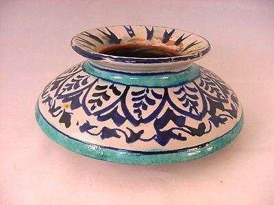 Antique Iznik Ottoman Turkish Pottery Pot Jar