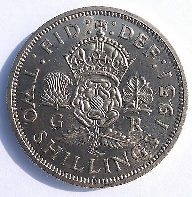 1951 George Vi Florin Coin  Proof (4147)