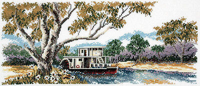 Riverboat Gum  - Cross Stitch Chart by Country Threads