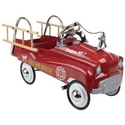 Pacific Cycles Fire Truck Pedal Car 14-PC300 New