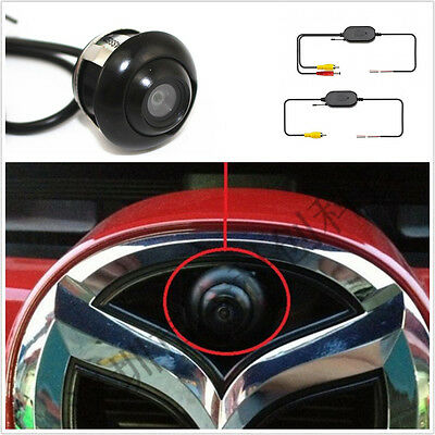Car Rearview Backup 360° Rotatable Camera + 2.4GHz Wireless Receiver Transmitter
