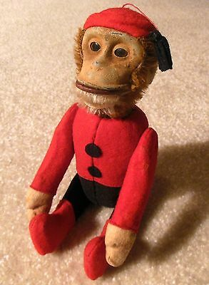 1920s SCHUCO YES / NO MECHANICAL MONKEY BELLHOP EXCELLENT WORKING - ALL ORIGINAL