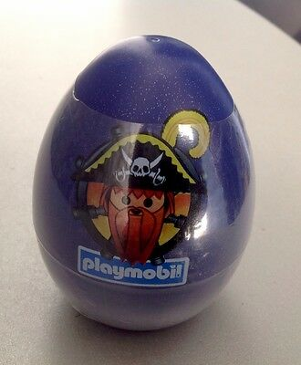 Vintage Very Rare Playmobil Egg  Pirate#3060 Easter Egg Factory Sealed