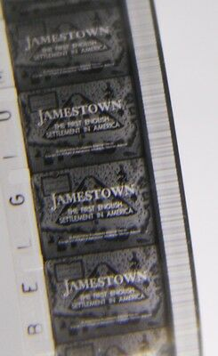Vintage 16mm Cine Film JAMESTOWN THE FIRST ENGLISH SETTLEMENT IN AMERICA [1287]
