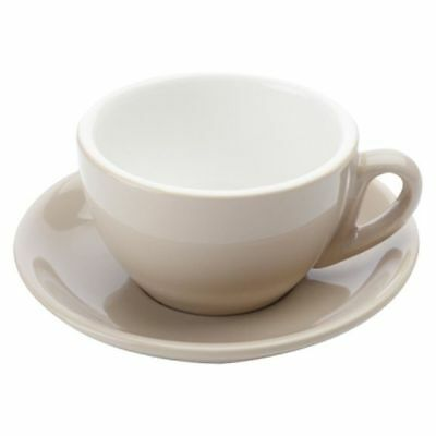 Cafe Culture Cappuccino Cup & Saucer, 200ml