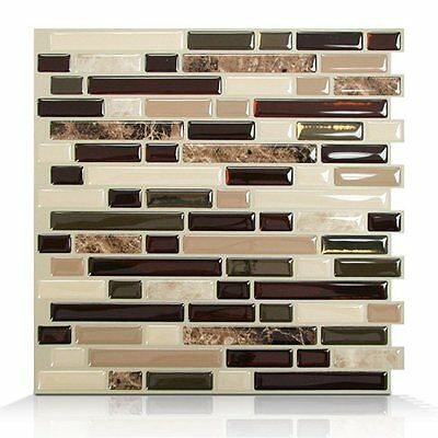 Smart Tiles SM1034-6 SM1034 Bellagio Keystone Self Adhesive Wall Tile