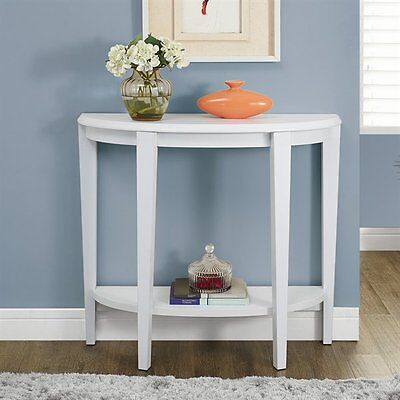 Monarch Specialties I 2451 36-in Hall Console Accent Table