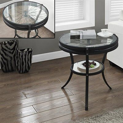 Monarch Specialties I 2140 36-in Metal Hall Console Accent Table