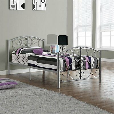 Monarch Specialties I 2390S Metal Twin Bed Frame