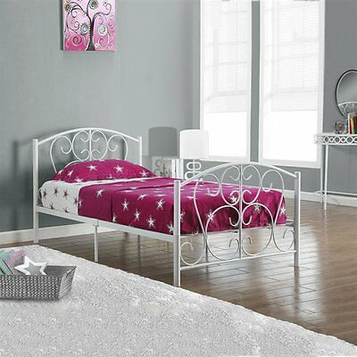 Monarch Specialties I 2390W Metal Twin Bed Frame