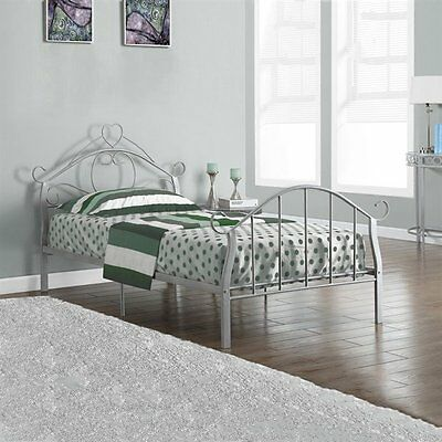 Monarch Specialties I 2392S Metal Twin Bed Frame