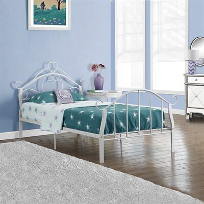 Monarch Specialties I 2392W Metal Twin Bed Frame