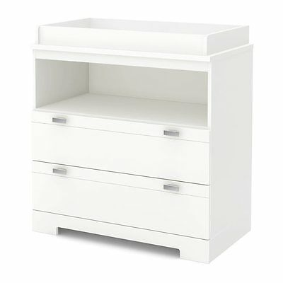 South Shore Furniture 3840330 Reevo Changing Table with Storage