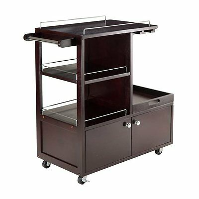 Winsome Wood 92430 Galen Entertainment Cart