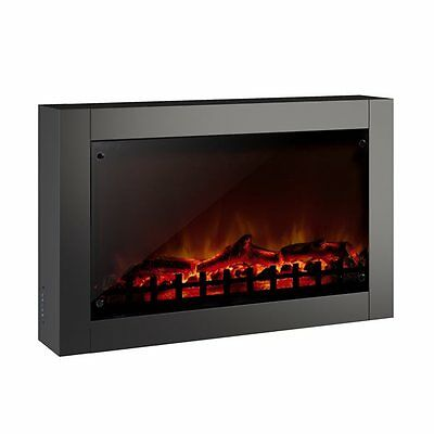 Sonax FPE-203-F CorLiving Wall Mounted Electric Fireplace