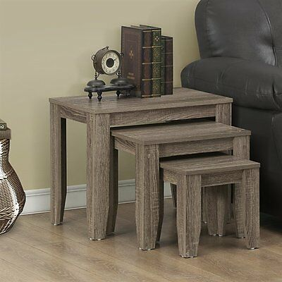 Monarch Specialties I 7916N Nesting Table Set