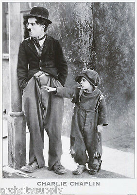 Poster :movie Actor: Charlie Chaplin  - Free Shipping  #pf2019     Rc14 D
