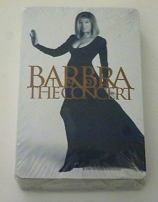 Barbara Streisand  (1993 The Concert) deck of playing cards Never opened